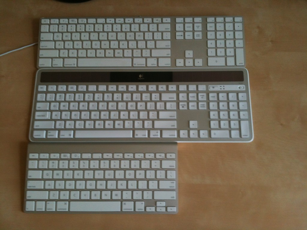 Apple Wired-Wireless Keyboards
