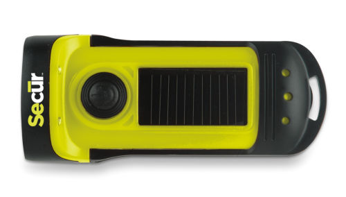 Secur Solar Powered Flashlight