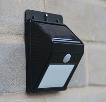 Swiftly Done Peel-n-Stick Outdoor Solar Lights