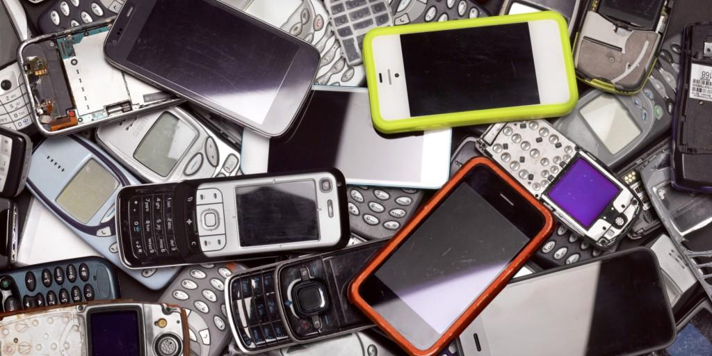 recycle smartphones