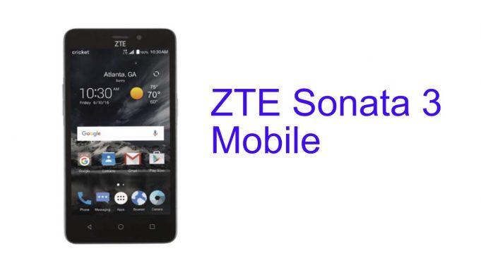 zte sonata 3 drivers will