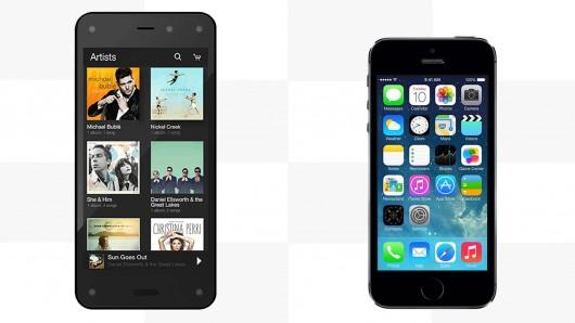 amazon fire phone vs iphone 5s
