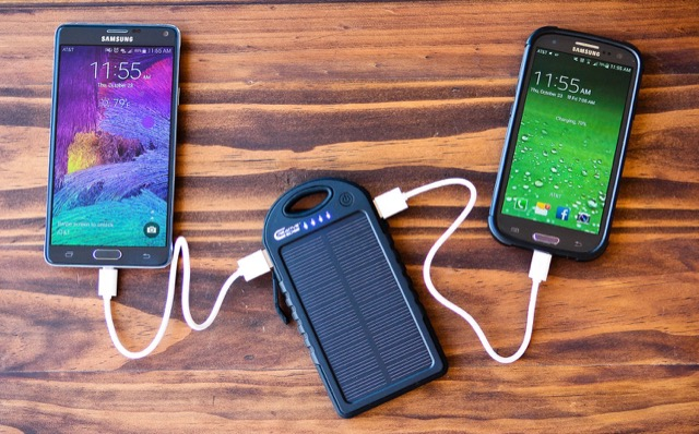 Creative Edge Solar Cell Phone Charger
