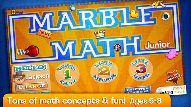 Marble Math Junior