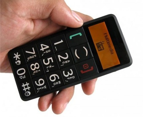 The Big Button Cell Phone