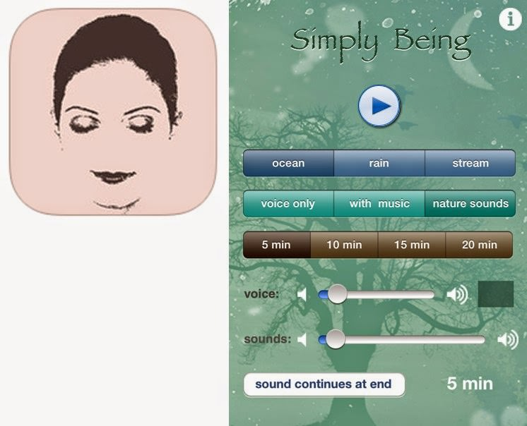 Simply Being Guided Meditation app