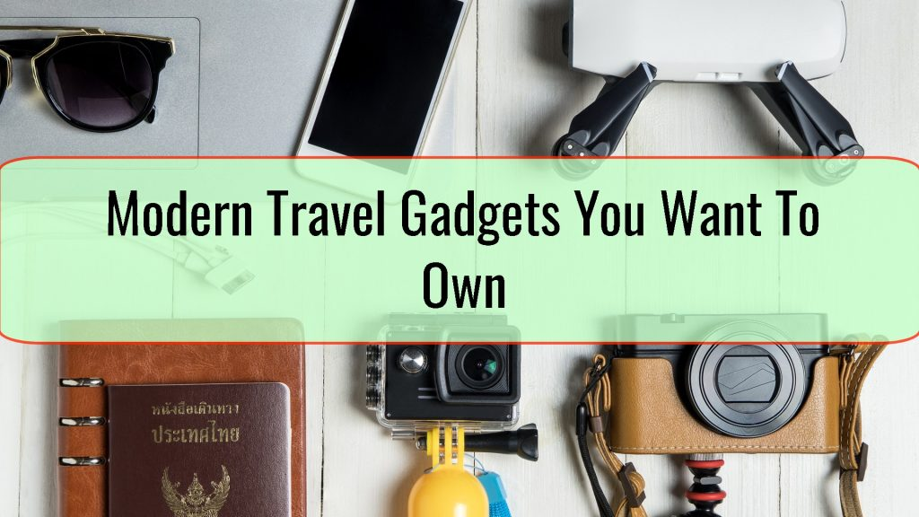 Modern Travel Gadgets
